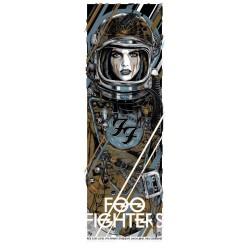 """Cooper, Rhys - Foo Fighters, """"Cosmonaut"""" Auckland 2015 (Ltd 300)"""