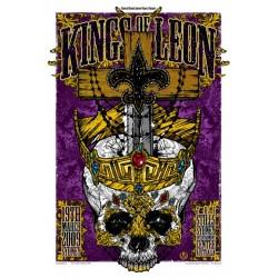 """Cooper, Rhys - Kings Of Leon, """"Crown Jewls Skull"""" Sydney 2009"""
