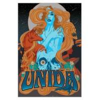 Unida - Australia & New Zealand Tour Poster 2013 (John Garcia's other band), (Ltd 500)