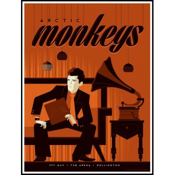 Whalen, Tom - Arctic Monkeys, Wellington (Ltd 245)