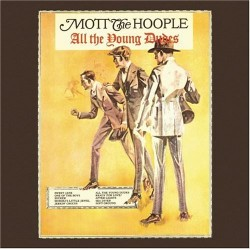Mott The Hoople - All The Young Dudes [LP] (Red 150 Gram Vinyl, limited, foil-numbered)